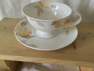 Laura Ashley,Large Cup And Saucer, Hydrangea X1 New • 5.75£