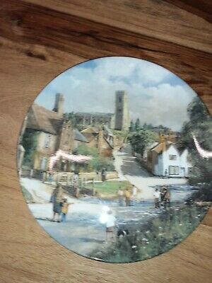 The Villiage Ford Royal Doulton Decorative Plate • 10£