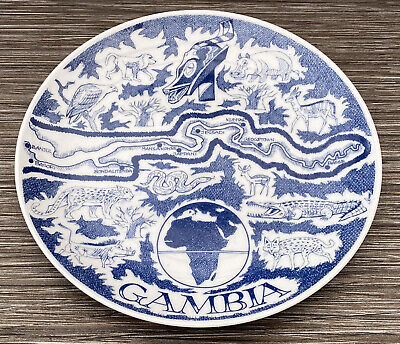 Kebba Singateh Gambia West Africa Plate • 18£