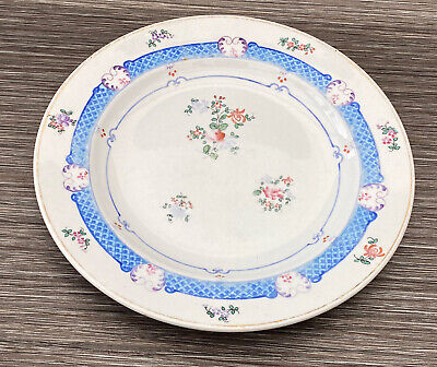 Crescent & Sons 22388 Floral Transfer Bread Serving Plate • 15£