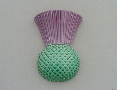 Campsie Ware Pottery Scotland Thistle Wall Pocket Unusual! • 29.99£