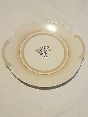 Gray's Pottery, China Sandwich Plate, Hand Painted Design • 5£