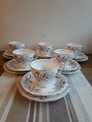 VINTAGE ROYAL STANDARD CHINA TEASET 18 PCES CUPS SAUCERS PLATES Mint Condition  • 39.50£