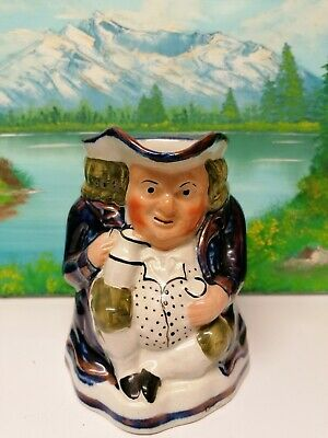 Gaudy Welsh Toby Jug No 36 Sunflower  12.5 Cms • 14.99£