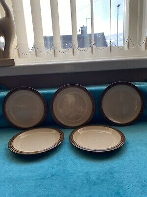 5xDenby Camelot Side Plates • 1.99£