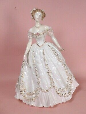 ROYAL WORCESTER FIGURE SWEETEST VALENTINE -  Enchanted Evenings Collection  • 59£