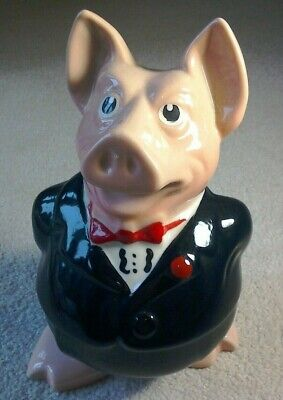 Wade NatWest Pigs SIR NATHANIEL - Pristine Condition With Original Stopper. New • 50£