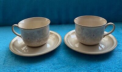 2 Sandalwood Denby Cups And Saucers • 2.99£