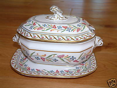 Spode Cabinet Collection Sauce Tureen & Stand --Reduced • 39.99£