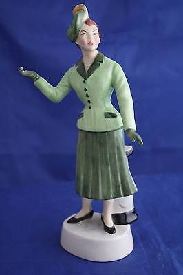 Bairstow Manor Collectables The New Look 1947 Fashions Of The Forties Figurine • 39.95£