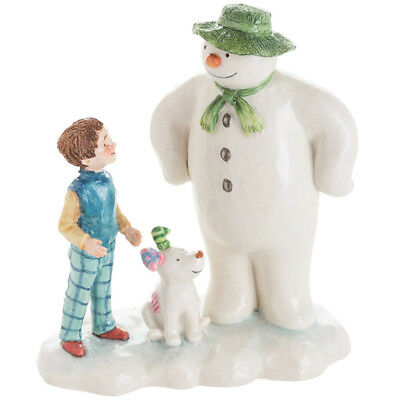 The Snowman & The Snowdog Figurine Let's Go On An Adventure From John Beswick • 23.99£