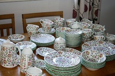Minton Haddon Hall Breakfast, Dinner And Tea Ware Shipping To The U.S.A. Daily • 33.95£