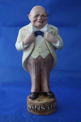 Bairstow Manor Collectable Winston Churchill Sidney George Strube Cartoon Figure • 95£