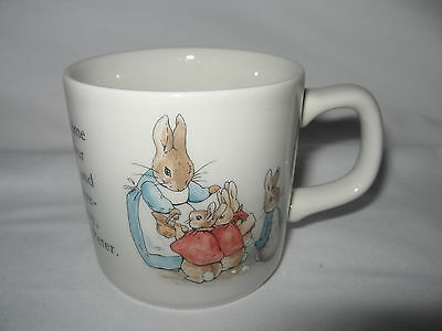 WEDGWOOD Childs China Cup  PETER RABBIT  • 15.86£