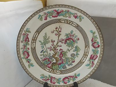 Sampson Bridgwood Small Dinner / Salad Plate In Indian Tree Pattern  A / F • 12.99£