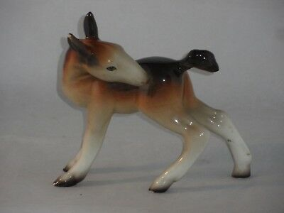 Rare? Vintage Midwinter Figurine Hand Painted Foal Head Back 1950s 14cms High   • 9.99£