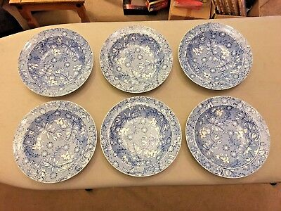 Royal Tudor Ware Forest Walk Bowl 6 Bowls Very Good Condition Made In England • 30£