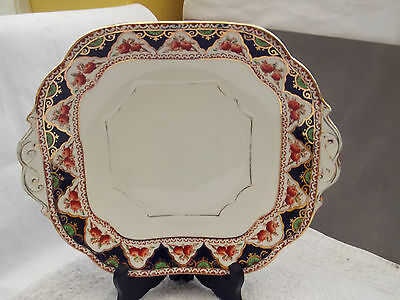 1930 - 41 Stanley China [amison] Square Twin-handled Bread / Cake Plate • 27.89£