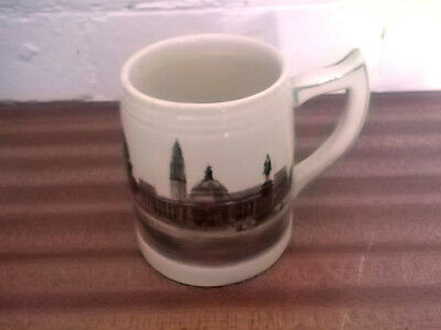 Brentleigh Mug / Tankard Crested Cardiff With  A Picture Of Cardiff City Hall • 18.99£