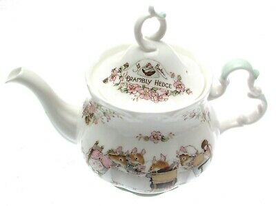 Brambly Hedge Teapot Full Sized Royal Doulton First Quality • 245£