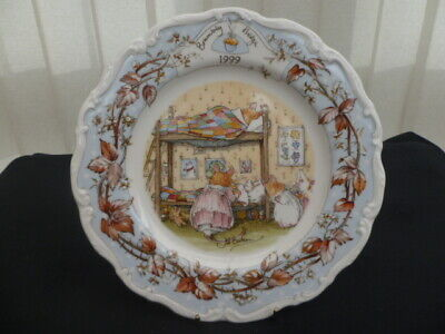 Royal Doulton Brambly Hedge 1999 8  Collector Plate • 100£