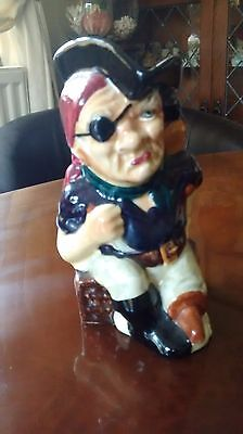 Long John Silver Shorter And Sons Character Toby Jug • 14.50£