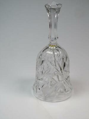 Crystal Glass Bell 6-Sided Handle • 4.99£