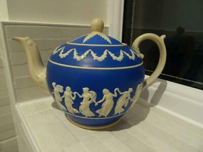 Vintage Copeland Teapot With Dancing Hours Type Decoration • 19.95£