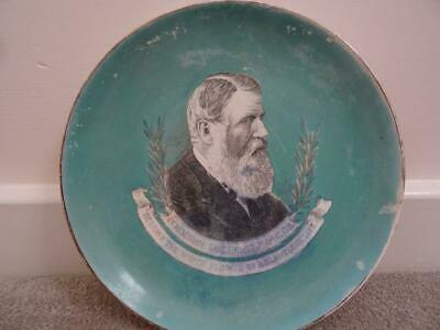 Antique Earl Iddesleigh Commemorative Plate • 9.95£