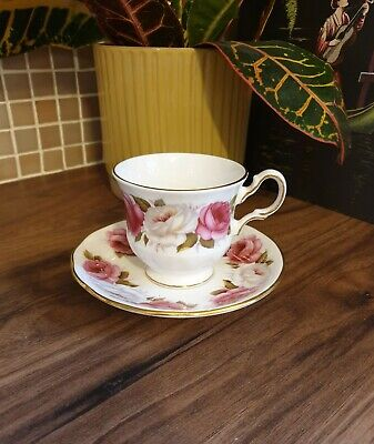 Vintage Queen Anne Bone China Cup And Saucer • 9.99£