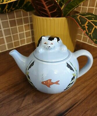 Vintage Whimsical Teapots Feline Collection - Wade • 9.99£