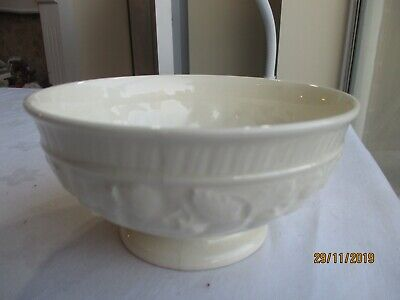 UNUSED Royal Creamware  Footed Serving Bowl • 9.99£