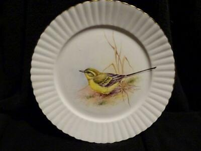 China Plate  Grey Wagtail  By Ex Royal Worcester Artist Derek Wilson • 24.95£