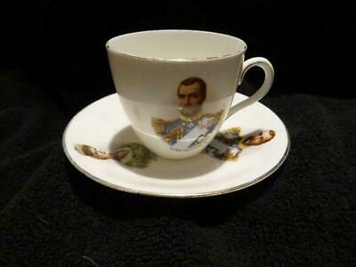 King George V & Queen Mary Coronation Cup & Saucer Duo • 9.95£