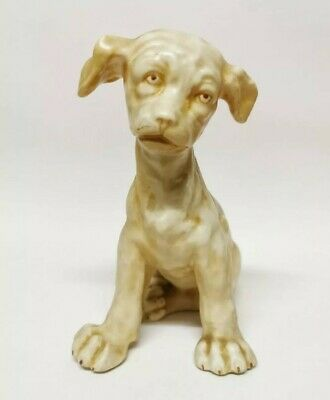 Aller Vale Torquay Style Grotesque Dog Figurine Bros Figure Continental Martin • 140£