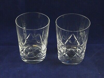 Two 2 Beautiful Stuart Crystal Carlingford 10 Oz Tumblers Glasses • 19.95£