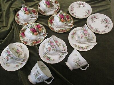 Fine Selection Of Vintage  Royal Albert China England Replacement Teaware • 5£