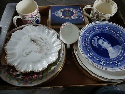 To Clear - Job Lot Of Various Royal Commemorative Plates Etc • 29.95£