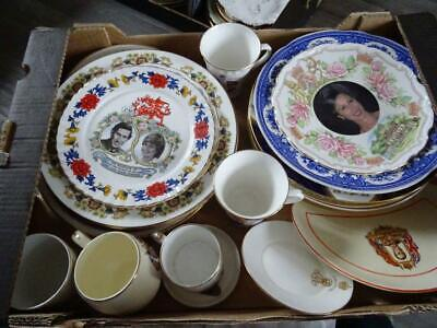 To Clear - Job Lot Of Various Royal Commemorative Plates Etc (2) • 29.95£