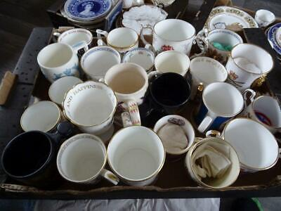 To Clear - Job Lot Of Various Royal Commemorative Mugs, Loving Cups Etc 23 Pcs • 19.95£