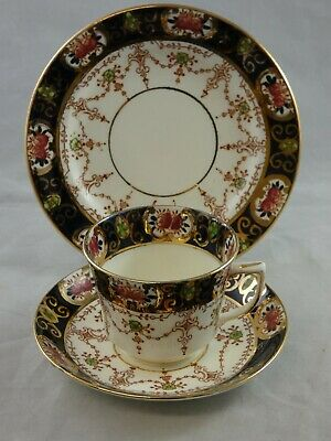 Lovely Doric China Imari Style Trio Cup Saucer Side Plate • 7.95£