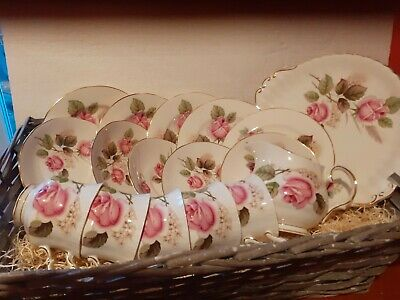 Royal Imperial 17 Piece China Teaset Mothersday /easter/ Wedding • 17£