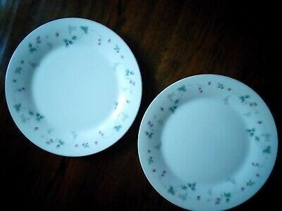 Royal Doulton Expressions Strawberry Fayre Dinner Plates X 2 • 14£