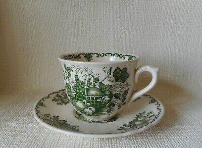 Masons Fruit Basket Breakfast Cup & Saucer   Good Condition  • 5.95£