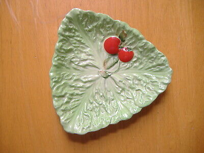 Carlton Ware Tomato And Leaf Design Dish  • 1.50£