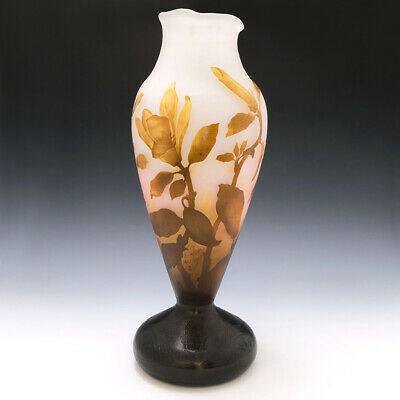 Very Large Daum Nancy Cameo Vase C1910 • 3,198£