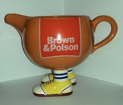 Carlton Ware Walking Ware Large Gravy Jug Brown & Polson • 7.99£
