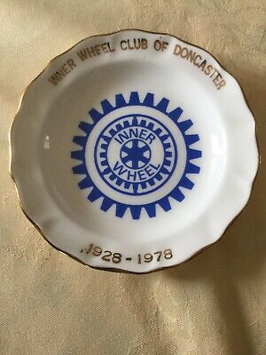 Inner Wheel Club Of Doncaster 1928-1978 Pin Dish • 0.99£