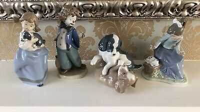 Collection Of Lladro NAO Figures • 15£
