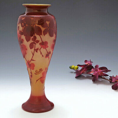 A Tall And Very Fine Galle Vase C1900 • 2,064£